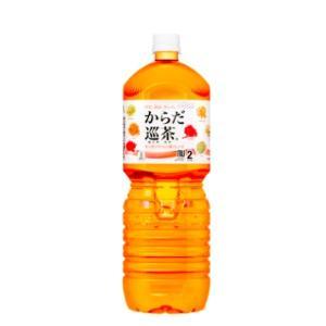 コカコーラ 【1ケース6本入り】からだ巡茶 ペコらくボトル2L PET