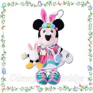 <東京ディズニーランド限定> ◆商品名 ミニー ぬいぐるみバッジ ディズニーイースター2019 (デ...