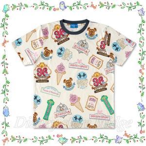 02c65082678a3 Tシャツ 子供用 東京ディズニーランド 限定 36周年 アニバーサリー グッズ ワールドバザール デザイン 記念 36th ミッキー ミニー キッズ