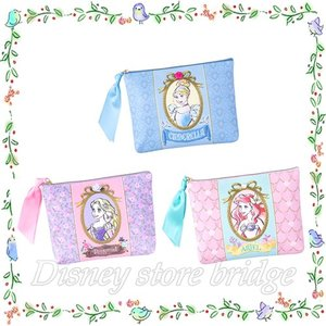 <東京ディズニーリゾート限定> ◆商品名 ポーチ プリンセスグッズ (両パーク共通)  ◆内容 全3...
