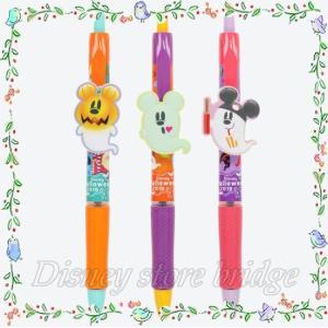 ボールペン<アクロボール>3本 ディズニーハロウィン2019 東京ディズニーリゾート限定 おばけミッ...
