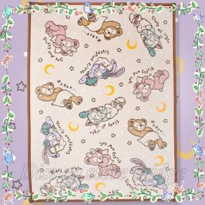 <東京ディズニーシー限定> ◆商品名 毛布 ダッフィーのスウィート ドリームス (ディズニーシー限定...
