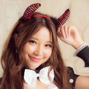 レディース 小物 costume(コスチューム)小悪魔ツノカチューシャ