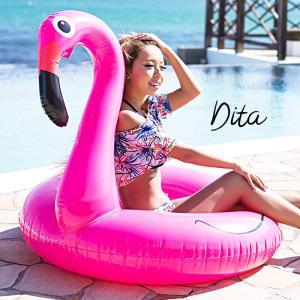 送料無料 Dita(ディータ)新作フラミンゴ浮き輪(小物)即納 遊び道具 浮輪 うきわ 海水浴 ビーチ|dita