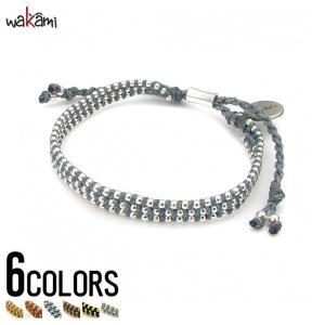 wakami(ワカミ)Kiss Bracelet(ブレスレット)/全6色(小物) レディース アクセサリー アンクレット ユニセックス|dita