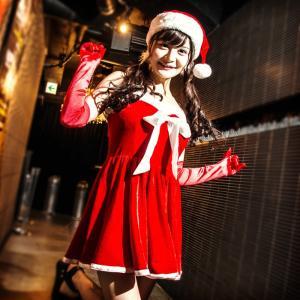 サンタ コスプレ 衣装costume【コスチューム】ホワイトリボン べロアサンタドレス3点セット (ドレスワンピース、帽子、ロンググローブ)/全1色(BL)クリスマス|dita