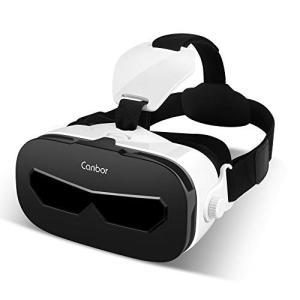 Canbor VRゴーグル スマホ用 VRヘッドセット iPhone android 3D VRグラ...