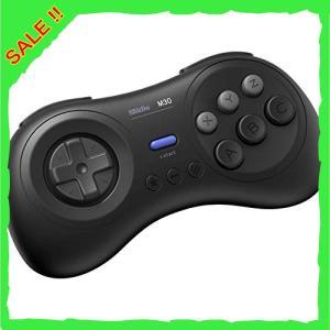 8Bitdo M30Bluetoothゲーミングコントローラー6ボタンメガドライブ風ゲームパッド /...