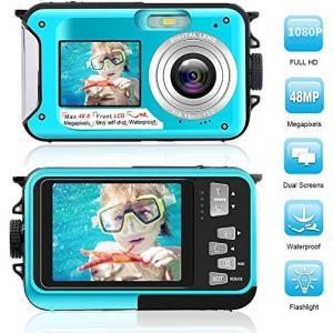 デジカメ 防水 防水カメラ デジカメ 水中カメラ デジタルカメラ スポーツカメラ 1080P 24....