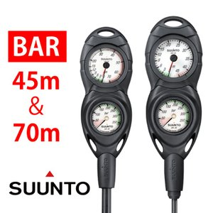 SUUNTO CB - TWO IN LINE 残圧計 水深計 コンボ コンソール ゲージ|diving-hid