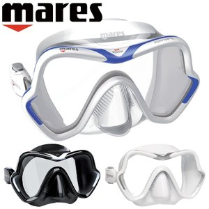 ダイビング マスク mares マレス ワンビジョン サンライズ軽器材|diving-hid