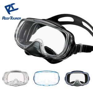 【スノーケリング用マスク】REEF TOURER/リーフツアラー マスク RM33Q【男女兼用10歳〜大人向け】[31103010] diving-hid