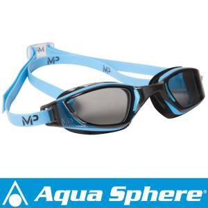 Aqua Sphere/アクアスフィア エクシード  ダークレンズ ブルー/ブラック[381050041300]|diving-hid