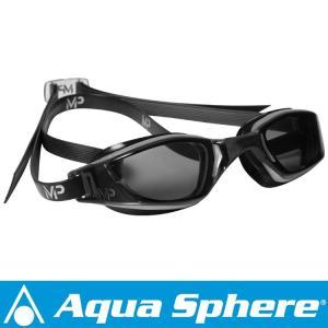Aqua Sphere/アクアスフィア エクシード  ダークレンズ グレー/ブラック[381050044100]|diving-hid