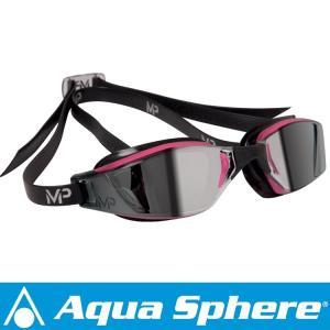 Aqua Sphere/アクアスフィア エクシードレディ ミラーレンズ ピンク/ブラック[381050060000]|diving-hid