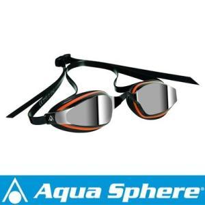 Aqua Sphere/アクアスフィア K180+ ミラーレンズ オレンジ/ブラツク[381050090000]|diving-hid