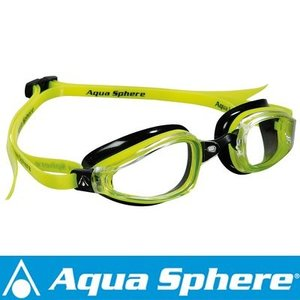 Aqua Sphere/アクアスフィア K180 クリアレンズ イエロー/ブラック[381050138700]|diving-hid