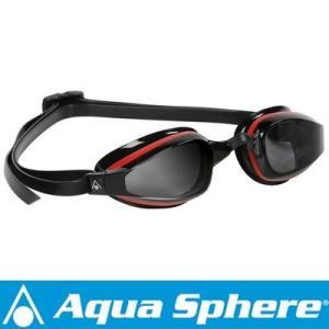 Aqua Sphere/アクアスフィア K180 ダークレンズ レッド/ブラック[381050147200]|diving-hid