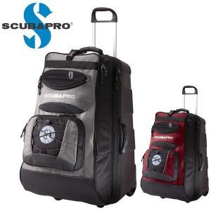 キャリーバッグ ダイビング 器材 SCUBAPRO スキューバプロ Sプロ ホイールバッグ 2|diving-hid