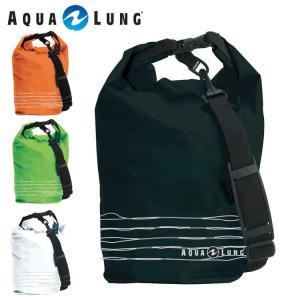防水バッグ AQUALUNG/アクアラング ウォータープルーフバッグ ショルダーベルト付き[40305017]|diving-hid