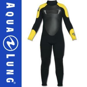 AQUALUNG/アクアラング ウェットスーツ スーパーストレッチ 3mm フルスーツ キッズ用 ウエットスーツ[50205015]|diving-hid