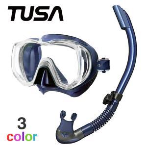 TUSA 軽器材2点セット ツサ ダイビング マスク シュノーケル 軽器材 セット HeleiWaho ヘレイワホ 軽器材セット 2点 【m3001-kiki+】|diving-hid