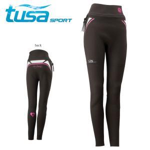 ウェットパンツ tusa sport/ツサスポーツ UA5207 ウェットパンツ 女性用[60203006]|diving-hid