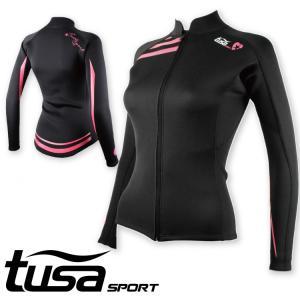 ウエットスーツ ジャケット tusa SPORT/ツサスポーツ ウェットスーツ ジャケット レディース UA5122[60203008]|diving-hid