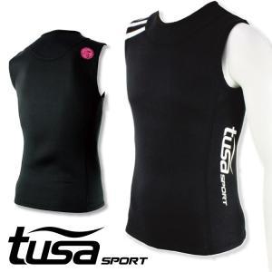 ウエットスーツ ベスト tusa SPORT/ツサスポーツ ウェットスーツ ベスト UA5123[60203009]|diving-hid