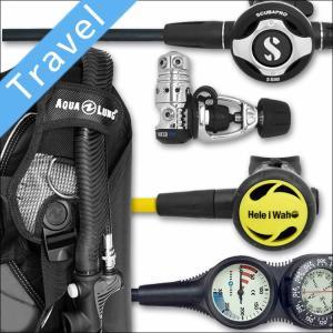 ダイビング 重器材 セット BCD レギュレーター オクトパス ゲージ 重器材セット 4点 【DMSN-s600-Hoct-Tst2】|diving-hid