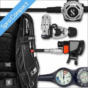 ダイビング 重器材 セット BCD レギュレーター オクトパス ゲージ 重器材セット 4点 【0-a700-Air2-Tst2】|diving-hid