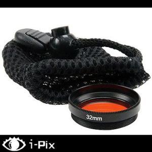 【i-Pix用フィルター】i-DIVESITE M32 Red filter for i-Pix 【RF-32PIX】[703840020000]|diving-hid
