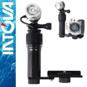アクションカメラ用ライト intova/イントバ I-AVL アクションビデオライト diving-hid