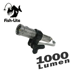 【水中ライト】i-DIVESITE 1000ルーメン LED水中ライト Fish-Lite V10 【FL-A008】[706840550000] diving-hid