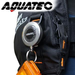 【リトラクター】AQUATEC/アクアテック ステンレスクリップリトラクター 75 [801760020000]|diving-hid