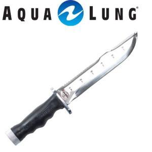 【ダイビングナイフ】AQUALUNG/アクアラング ネイビーナイフ【701500】[803050040000]|diving-hid