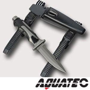 AQUATEC/アクアテック ダイビングナイフ タイガーナイフ チタニウム[803760020000]|diving-hid