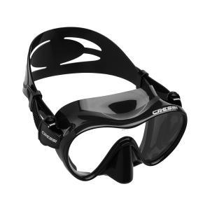 CRESSI(クレッシー)F1 (エフワン) フレームレス ダイビングマスク 一眼レンズマスク シュ...