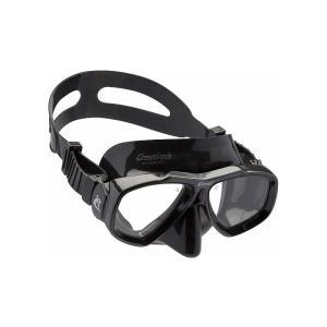 Cressi Focus クレッシー フォーカス ブラックシリコン マスク 度付き レンズセット