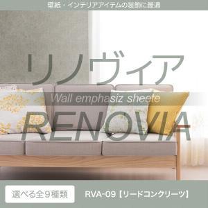 リメイクシート カッティングシート 屋内用 RENOVIA RVA-09 リードコンクリーツ 1220mm巾×1M単位 diy-helper