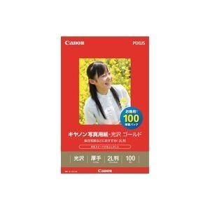 <title>キヤノン Canon ブランド品 写真用紙 光沢 ゴールド 2L判 100枚 2310B034</title>