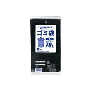 業務用10セット ジョインテックス ゴミ袋 LDD 70L 予約 黒 N210J-70 10枚 新作送料無料