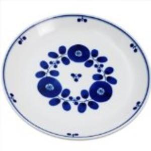 白山陶器 ブルーム プレートL ブーケ 未使用 トラスト 23.5cm