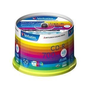 <title>三菱化学メディア CD-R 700MB 全店販売中 PCデータ用 48倍速対応 50枚スピンドルケース入り ワイド印刷可能 SR80SP50V1</title>