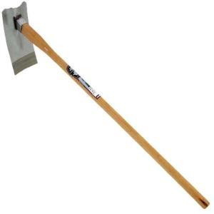 鍬(千吉)ステン改良鍬(くわ)(用途)/鍬。  (機能・特徴)/土づくり作業用です。錆びにくいステン...