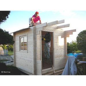 お子様とご一緒に、お庭に木の倉庫を建ててみませんか。セルフビルドミニログハウスキット【ハイド3/価格343,440円】|diy-kithouse|04