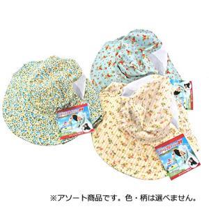 (虫除け帽子 ガーデニング) リバーシブル メッシュ園芸農帽 ・(虫除け加工 日差し対策 首周り) diy-tatsu