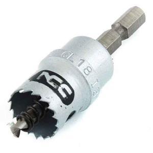 ホールソー インパクト用 金属用 18mm 用途(ステンレス/アルミ/アクリル板/塩化ビニール/プラスチック/サイディングボード/FRP)|diy-tatsu