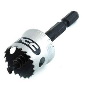 ホールソー インパクト用 金属用 21mm 用途(ステンレス/アルミ/アクリル板/塩化ビニール/プラスチック/サイディングボード/FRP)|diy-tatsu