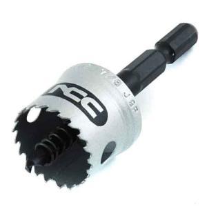 ホールソー インパクト用 金属用 22mm 用途(ステンレス/アルミ/アクリル板/塩化ビニール/プラスチック/サイディングボード/FRP)|diy-tatsu